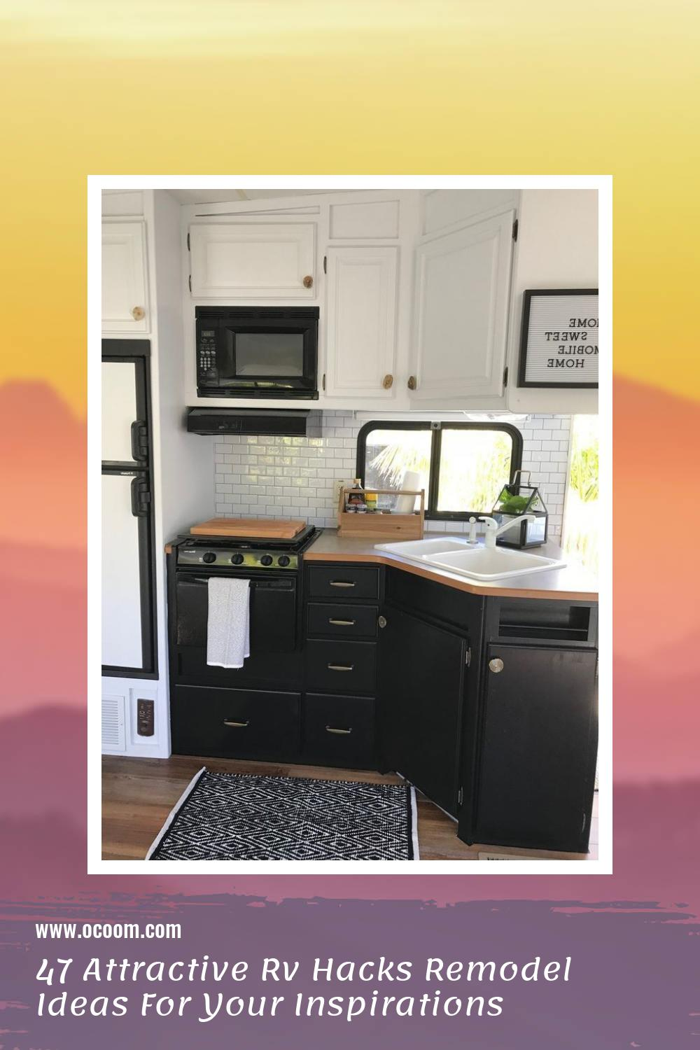 47 Attractive Rv Hacks Remodel Ideas For Your Inspirations 44