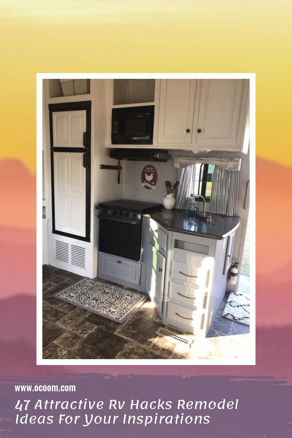 47 Attractive Rv Hacks Remodel Ideas For Your Inspirations 45