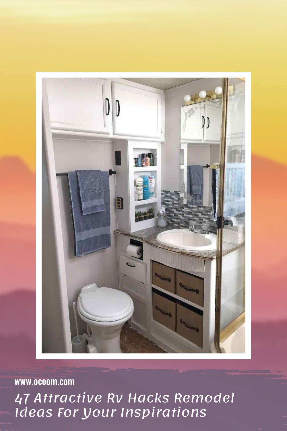 47 Attractive Rv Hacks Remodel Ideas For Your Inspirations 46