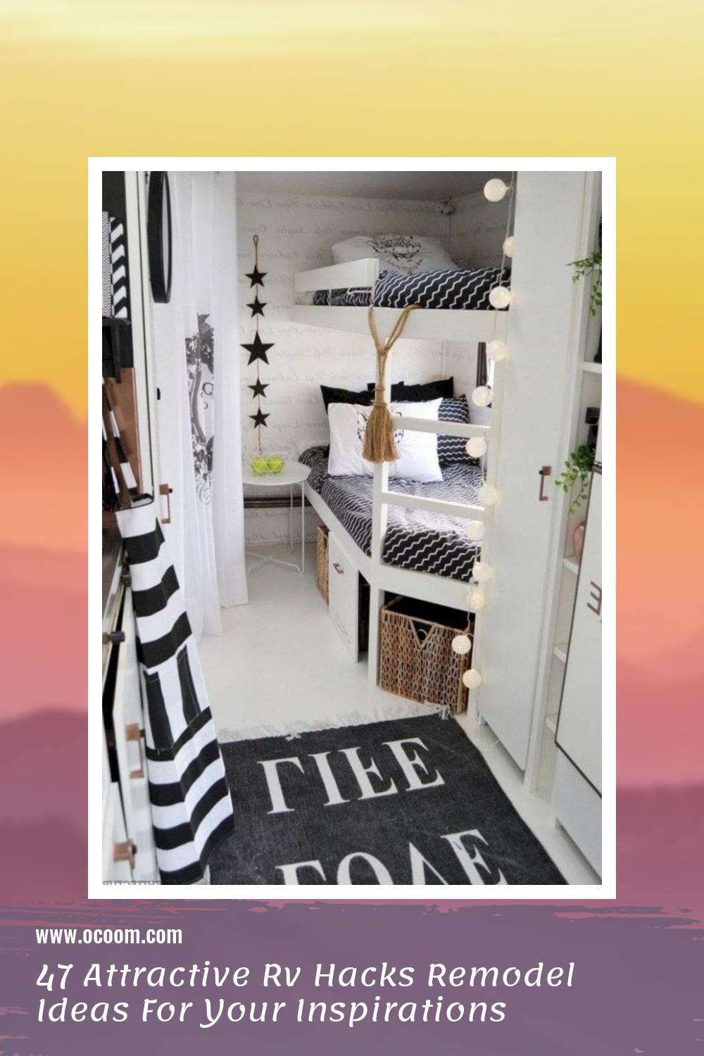 47 Attractive Rv Hacks Remodel Ideas For Your Inspirations 7