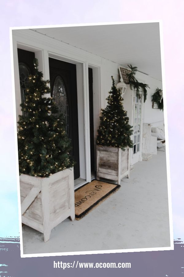 47 Extraordinary Farmhouse Christmas Decor Ideas 1