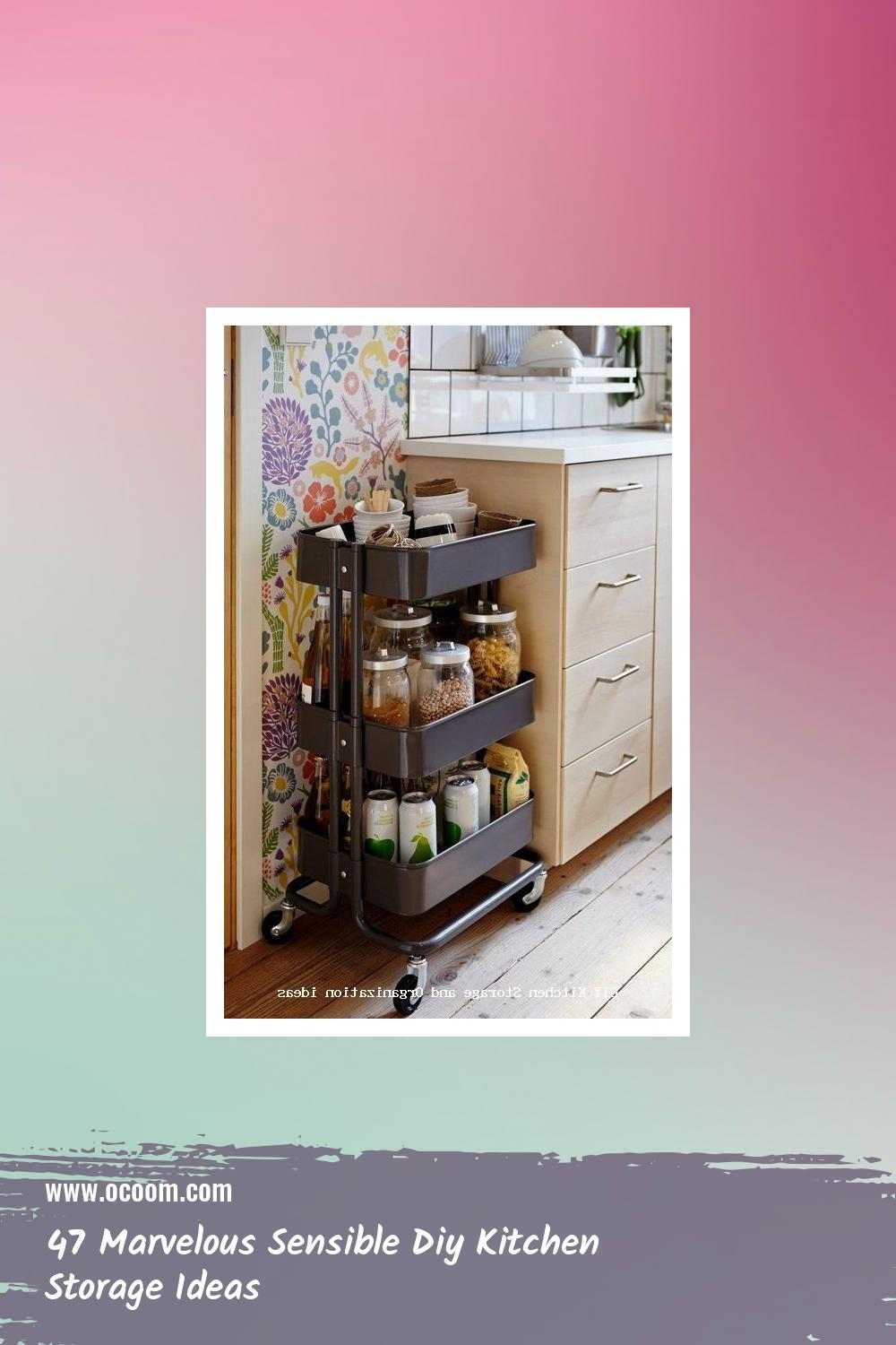 47 Marvelous Sensible Diy Kitchen Storage Ideas 29
