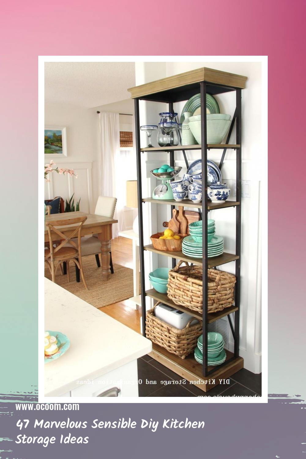 47 Marvelous Sensible Diy Kitchen Storage Ideas 33