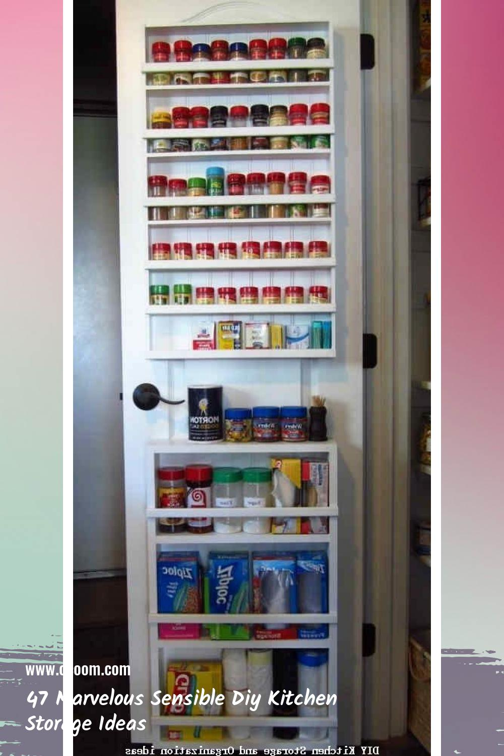 47 Marvelous Sensible Diy Kitchen Storage Ideas 40