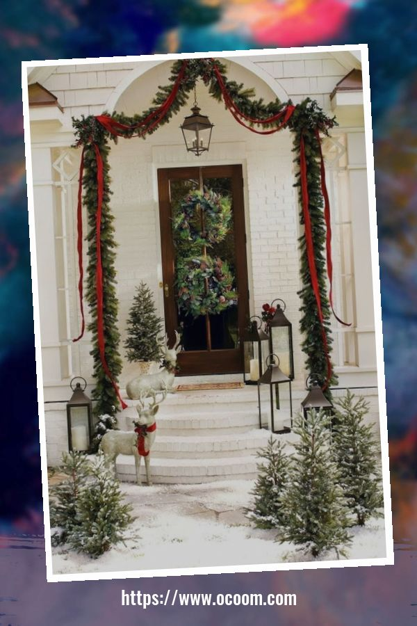 48 Amazing Outdoor Christmas Decor Ideas 24