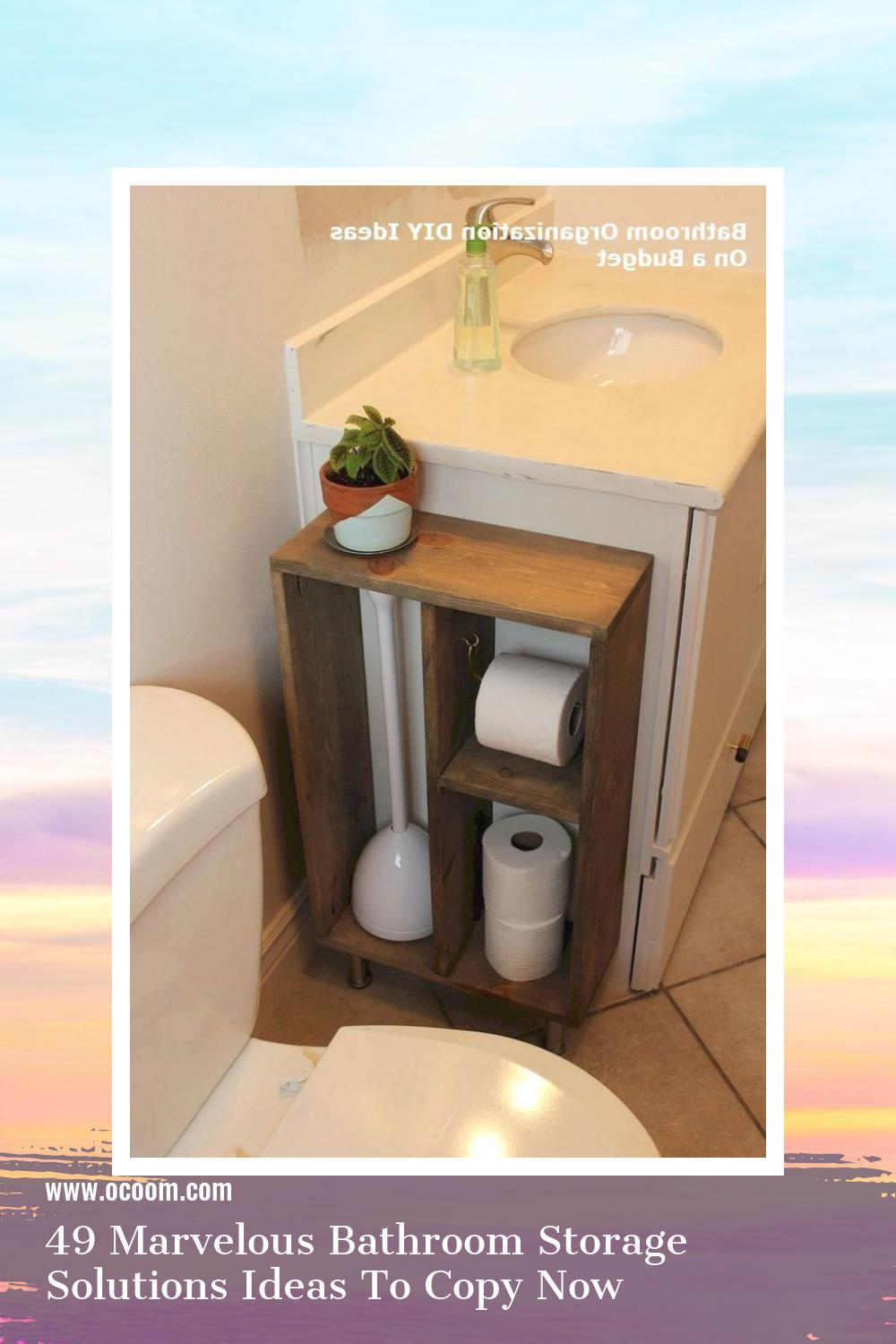 49 Marvelous Bathroom Storage Solutions Ideas To Copy Now 11