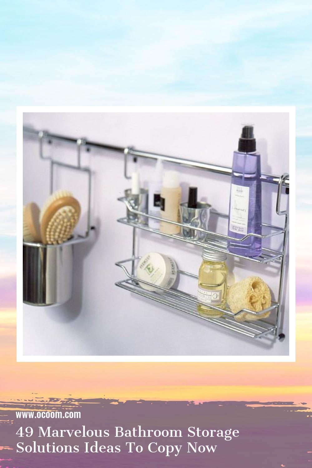 49 Marvelous Bathroom Storage Solutions Ideas To Copy Now 38