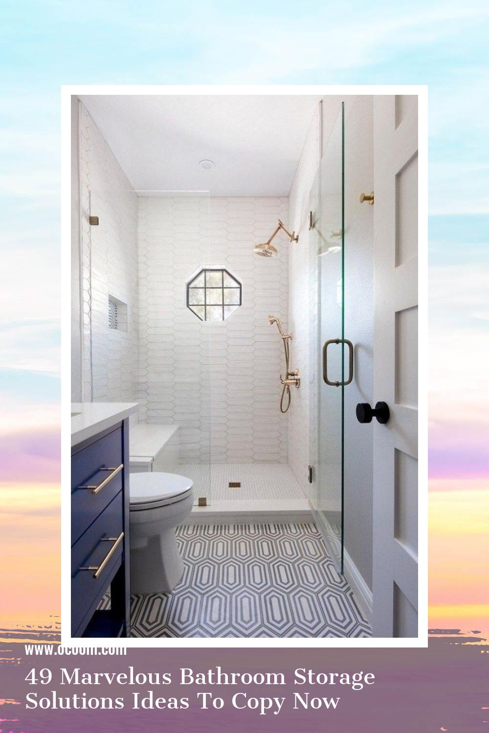 49 Marvelous Bathroom Storage Solutions Ideas To Copy Now 40