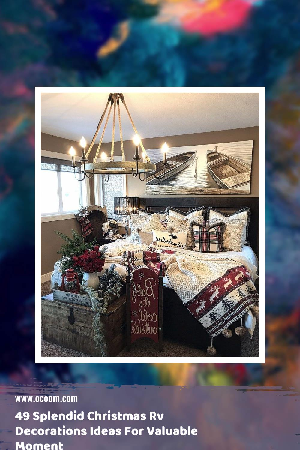 49 Splendid Christmas Rv Decorations Ideas For Valuable Moment 32