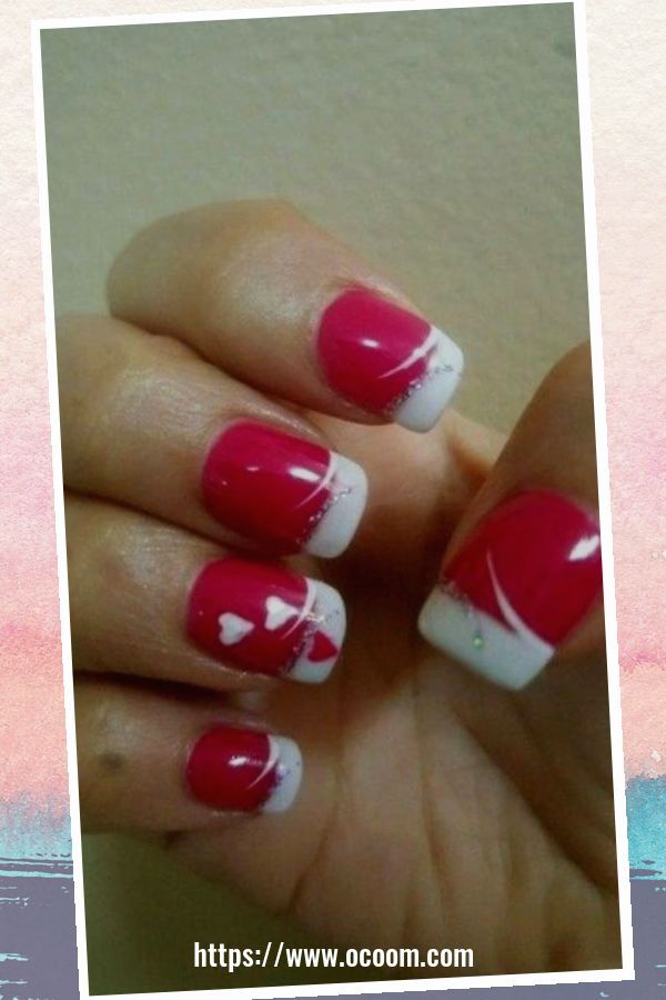 50 Easy And Simple Diy Nails Art Ideas For Valentines Day 10