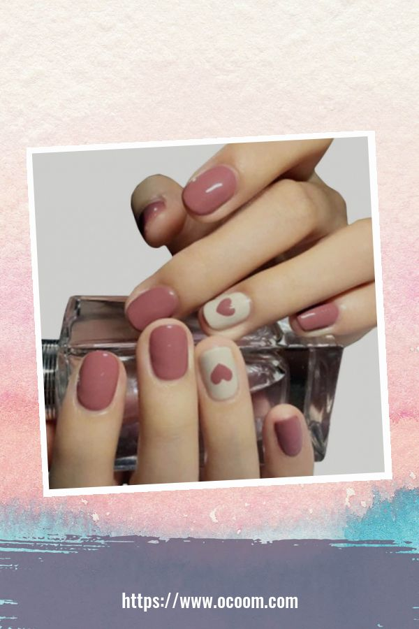 50 Easy And Simple Diy Nails Art Ideas For Valentines Day 11