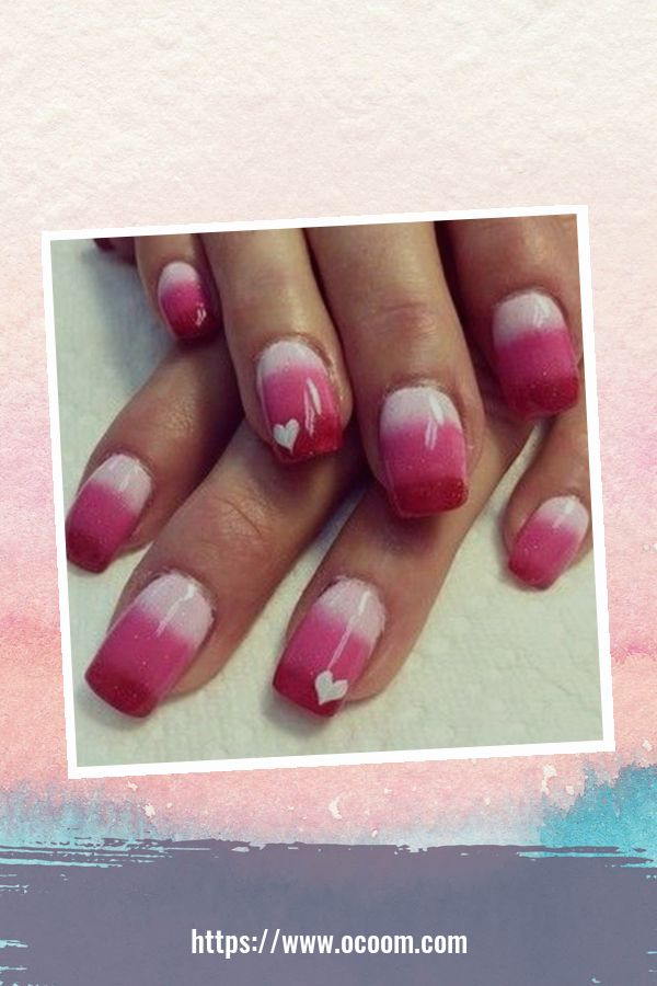 50 Easy And Simple Diy Nails Art Ideas For Valentines Day 12