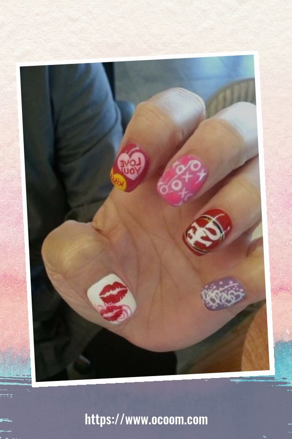 50 Easy And Simple Diy Nails Art Ideas For Valentines Day 13