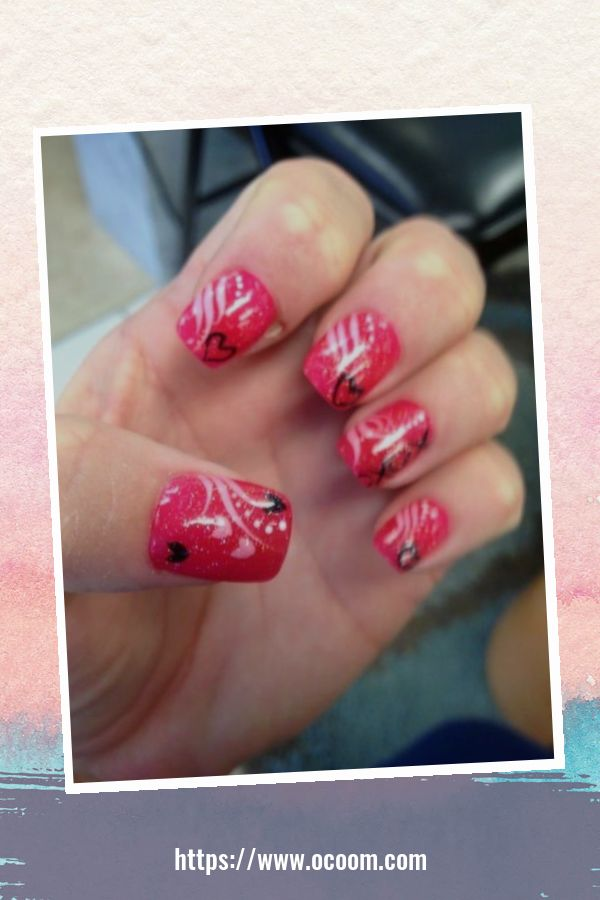 50 Easy And Simple Diy Nails Art Ideas For Valentines Day 14
