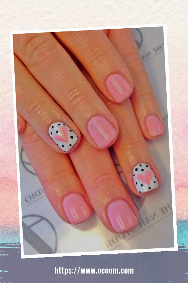50 Easy And Simple Diy Nails Art Ideas For Valentines Day 15
