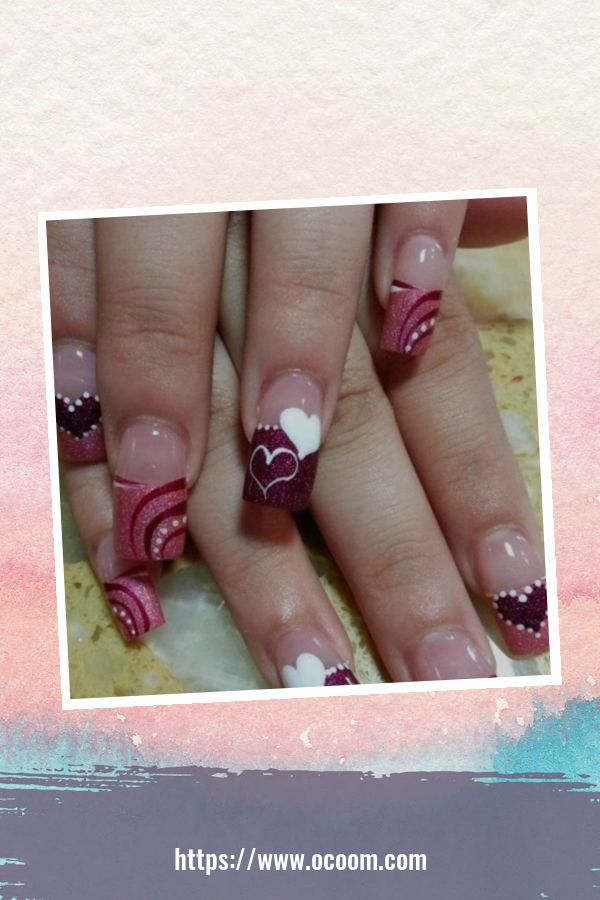 50 Easy And Simple Diy Nails Art Ideas For Valentines Day 2