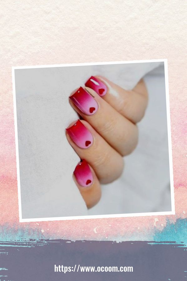 50 Easy And Simple Diy Nails Art Ideas For Valentines Day 21