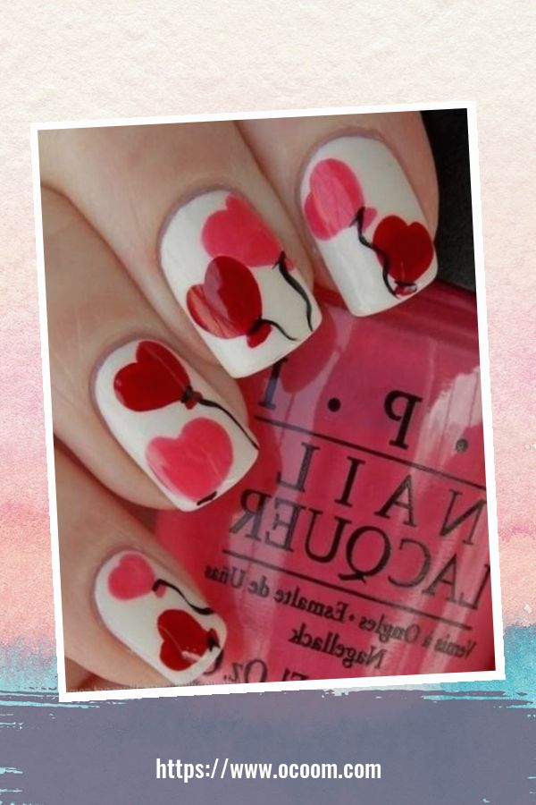 50 Easy And Simple Diy Nails Art Ideas For Valentines Day 22