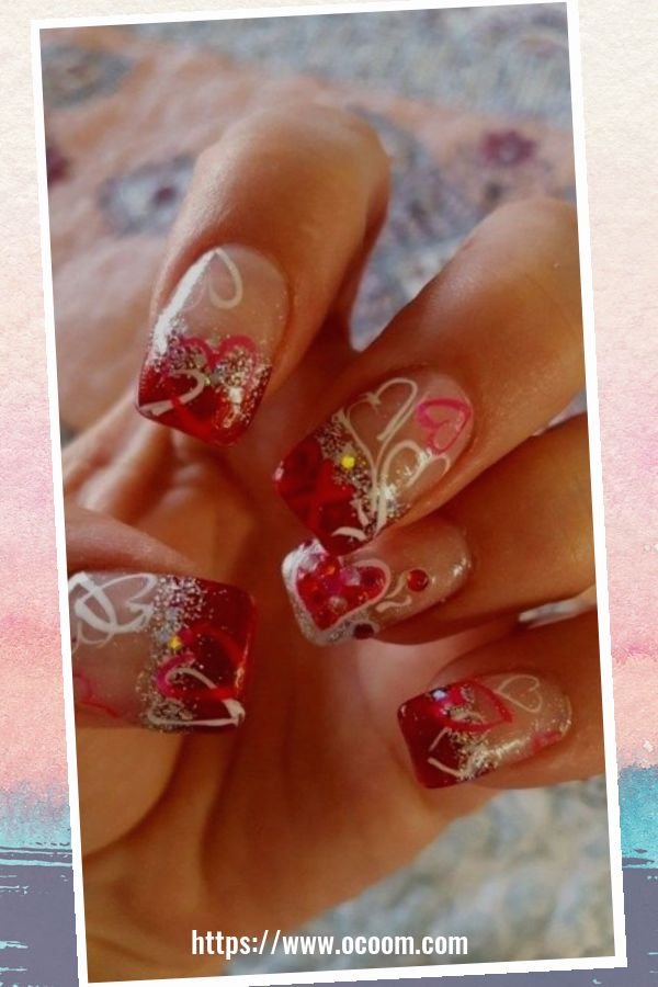 50 Easy And Simple Diy Nails Art Ideas For Valentines Day 23