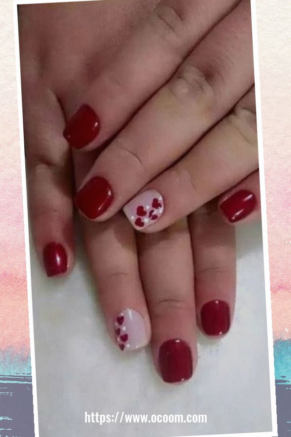 50 Easy And Simple Diy Nails Art Ideas For Valentines Day 25