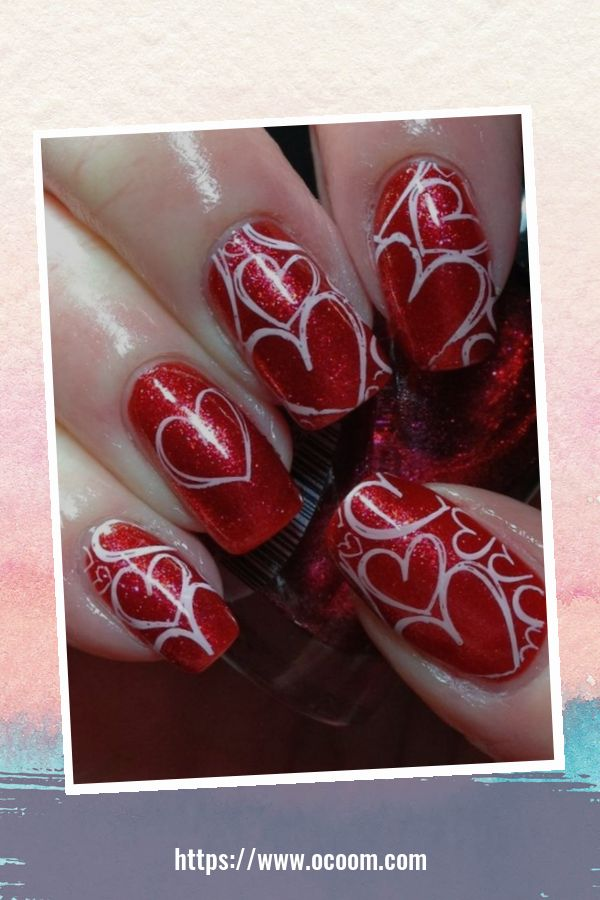 50 Easy And Simple Diy Nails Art Ideas For Valentines Day 26