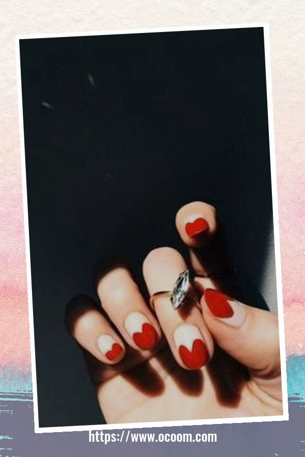 50 Easy And Simple Diy Nails Art Ideas For Valentines Day 27