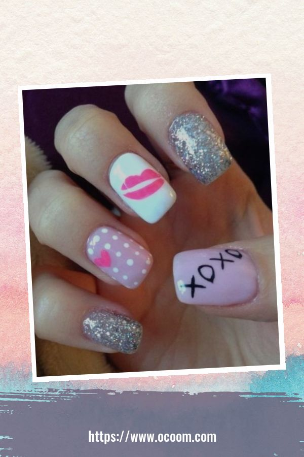 50 Easy And Simple Diy Nails Art Ideas For Valentines Day 28