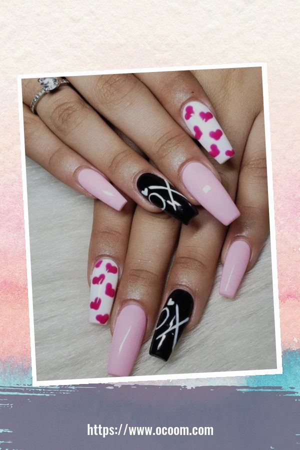50 Easy And Simple Diy Nails Art Ideas For Valentines Day 29