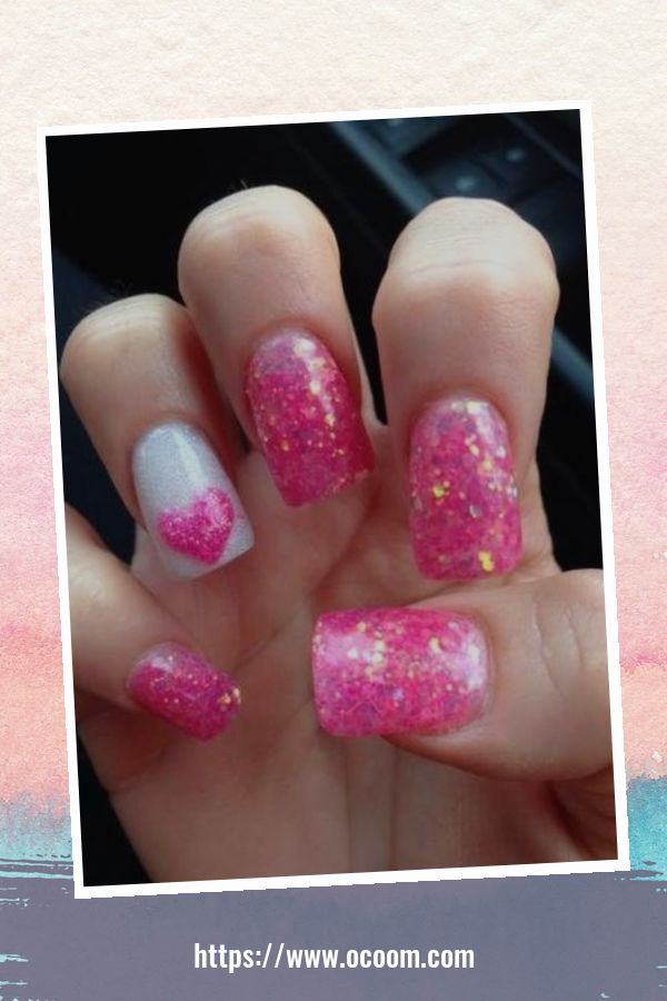 50 Easy And Simple Diy Nails Art Ideas For Valentines Day 3