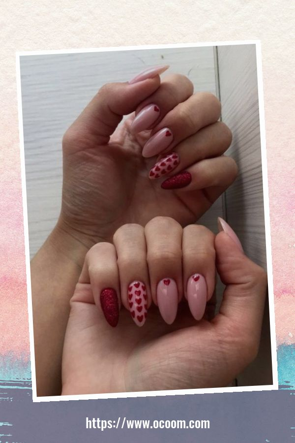 50 Easy And Simple Diy Nails Art Ideas For Valentines Day 30