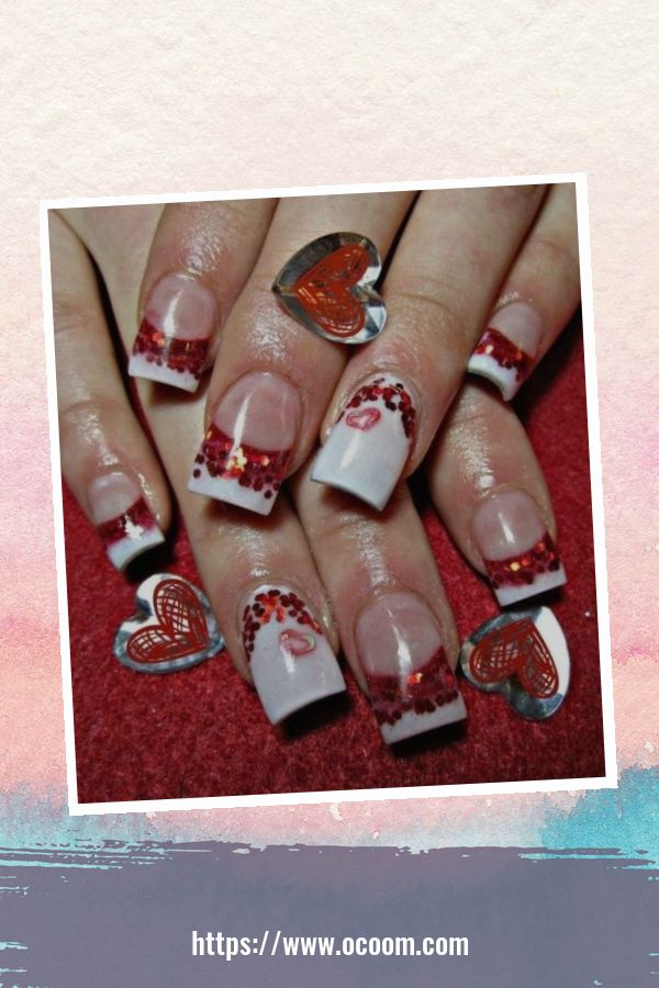 50 Easy And Simple Diy Nails Art Ideas For Valentines Day 32