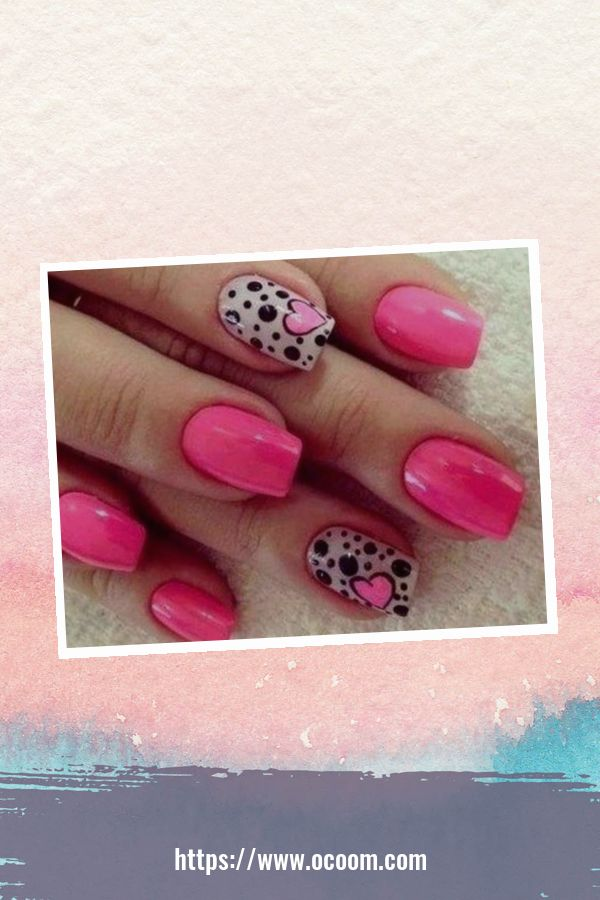 50 Easy And Simple Diy Nails Art Ideas For Valentines Day 38