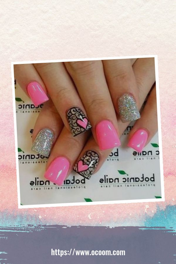 50 Easy And Simple Diy Nails Art Ideas For Valentines Day 4