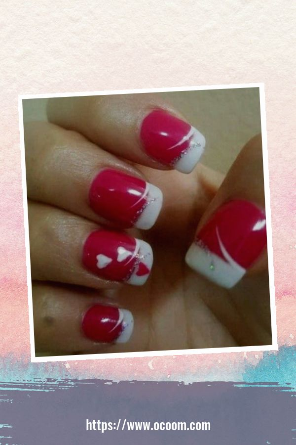 50 Easy And Simple Diy Nails Art Ideas For Valentines Day 42