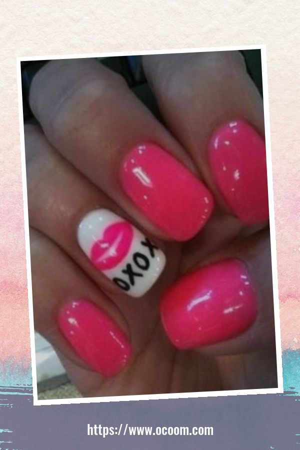 50 Easy And Simple Diy Nails Art Ideas For Valentines Day 5