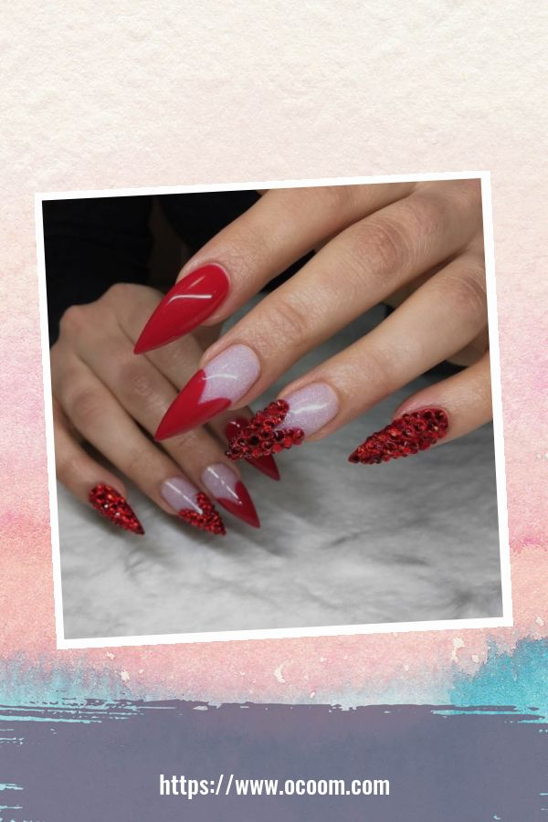 50 Easy And Simple Diy Nails Art Ideas For Valentines Day 8