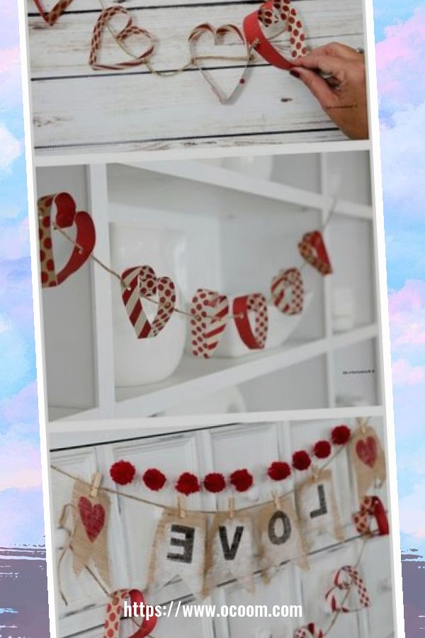 50 Fantastic DIY Valentines Day Decoration Ideas 20