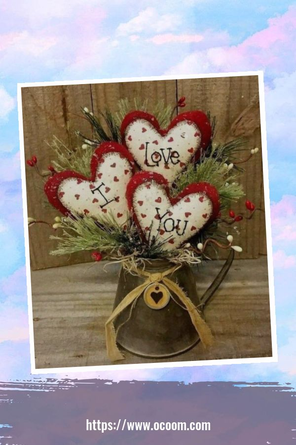 50 Fantastic DIY Valentines Day Decoration Ideas 23