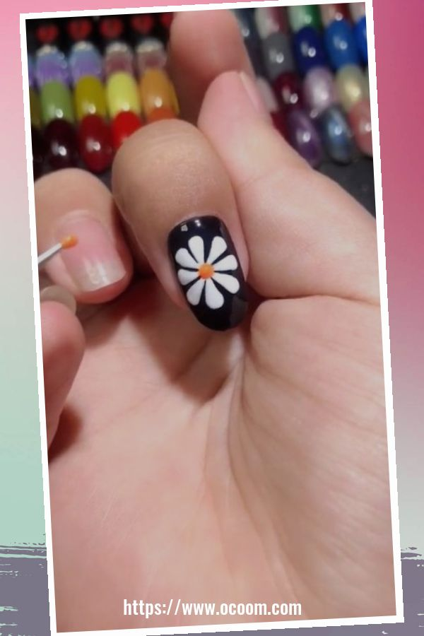 50 Superb Black Nail Art Designs Ideas That You Must Try 11