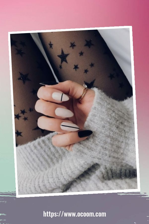 50 Superb Black Nail Art Designs Ideas That You Must Try 32