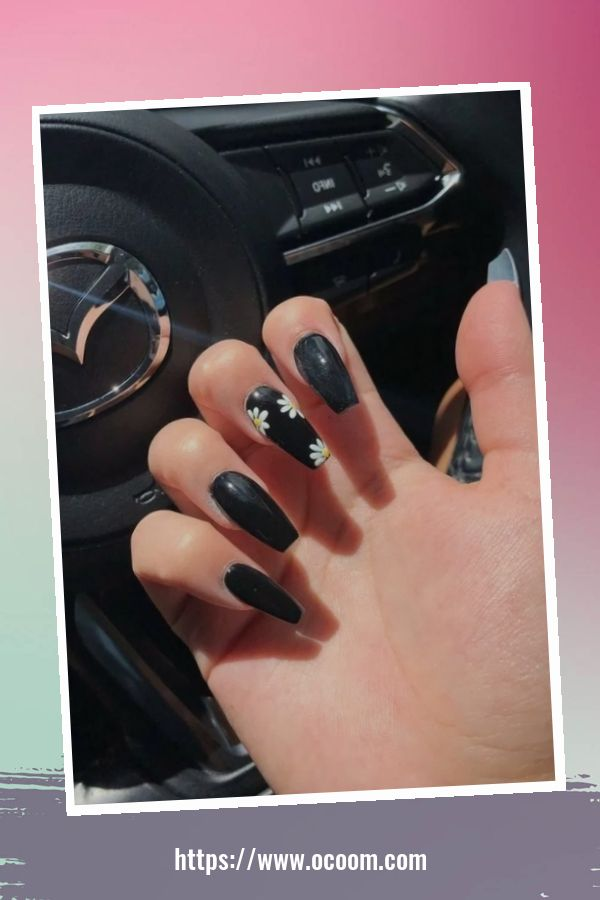 50 Superb Black Nail Art Designs Ideas That You Must Try 9