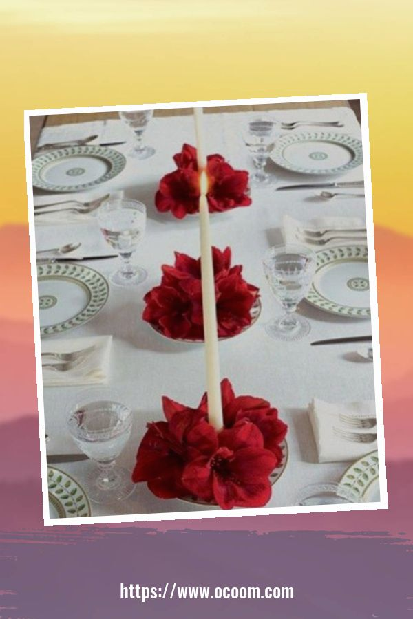 51 Elegant Table Settings Ideas For Valentines Day 13