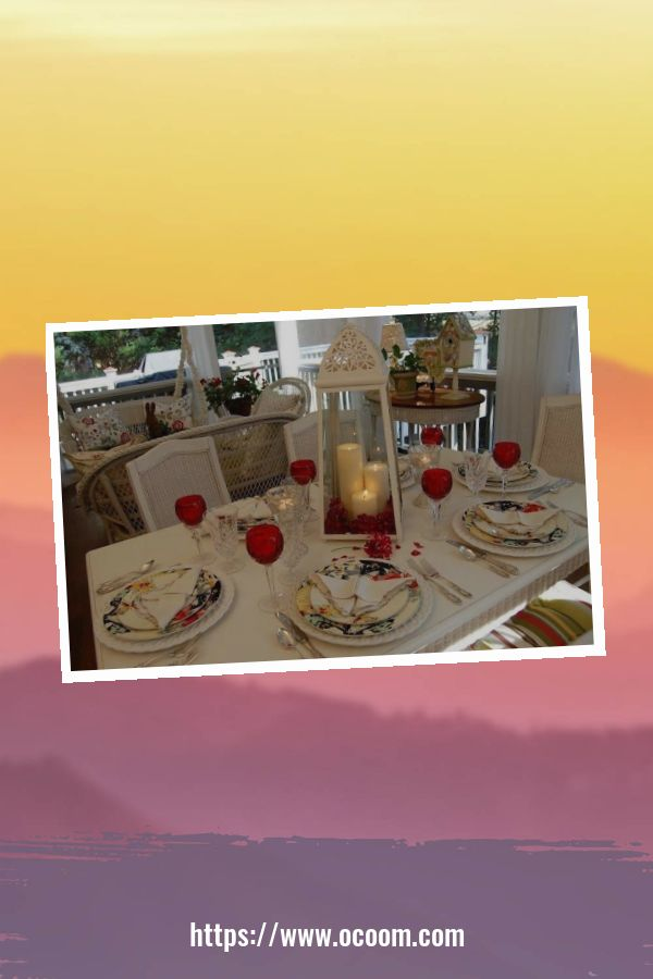 51 Elegant Table Settings Ideas For Valentines Day 15