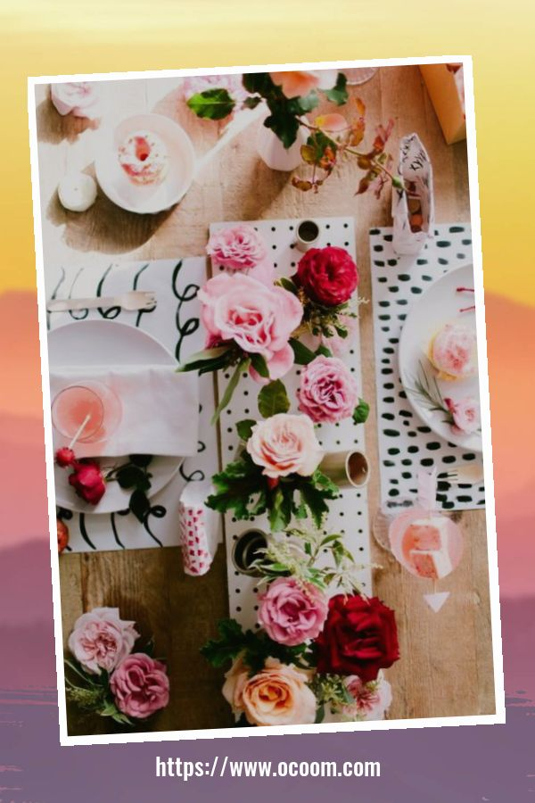51 Elegant Table Settings Ideas For Valentines Day 32