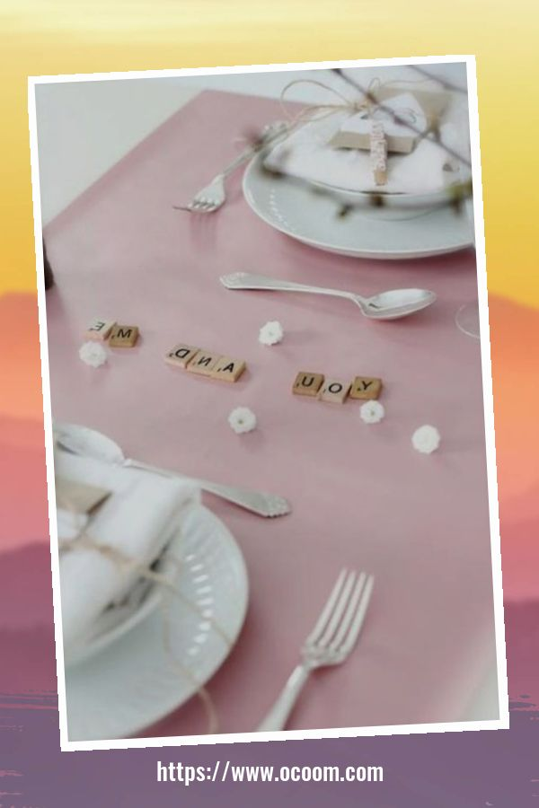 51 Elegant Table Settings Ideas For Valentines Day 39