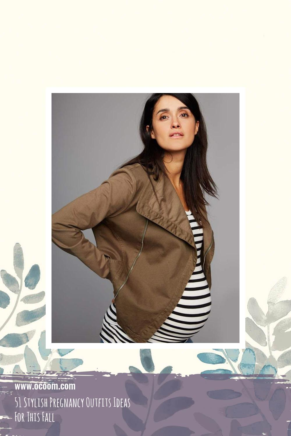 51 Stylish Pregnancy Outfits Ideas For This Fall 1