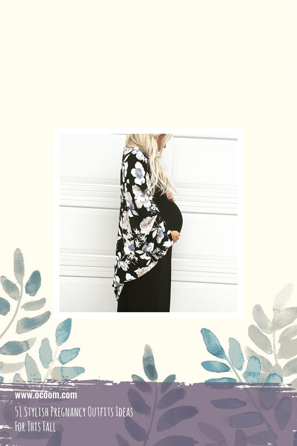 51 Stylish Pregnancy Outfits Ideas For This Fall 15