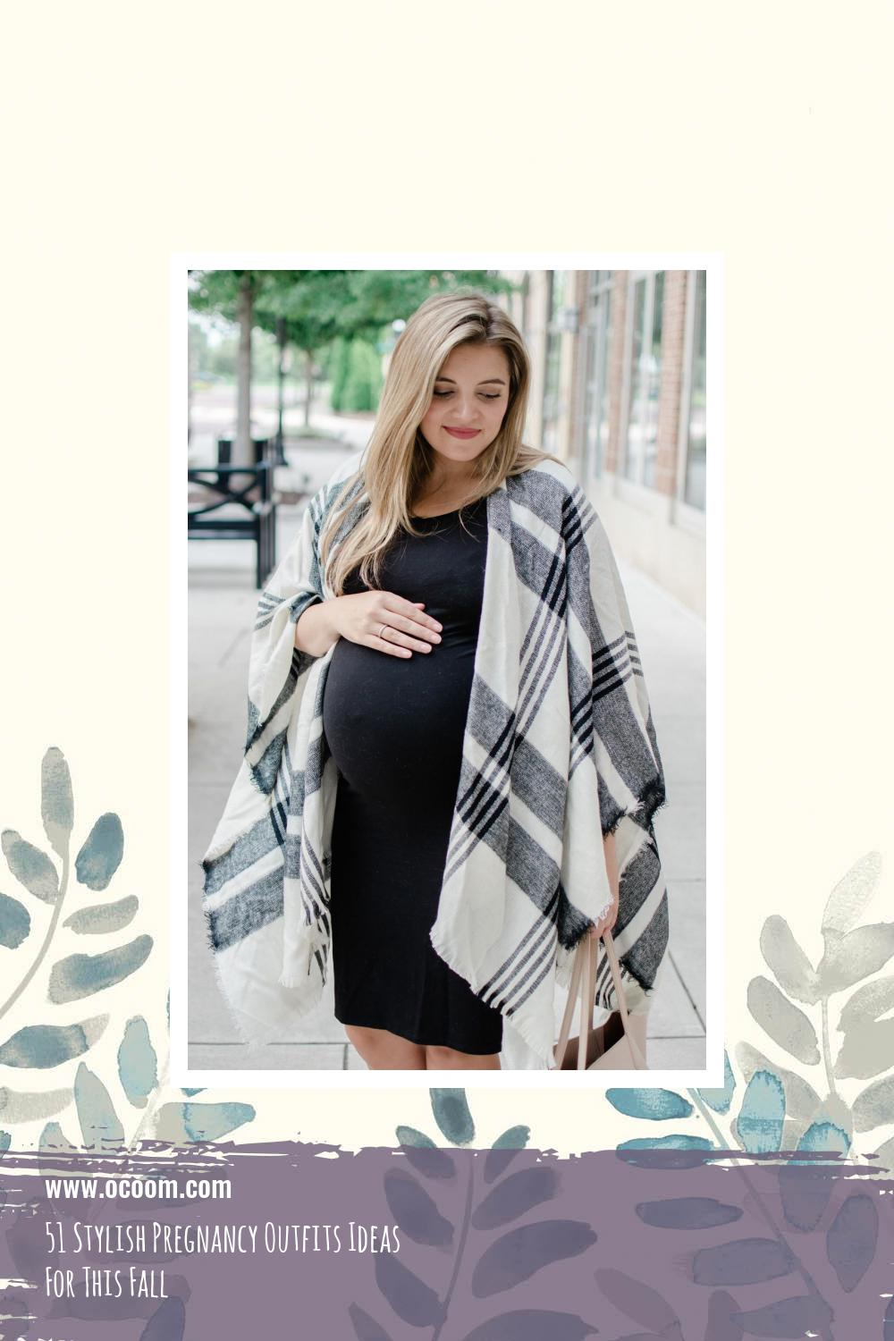 51 Stylish Pregnancy Outfits Ideas For This Fall 23