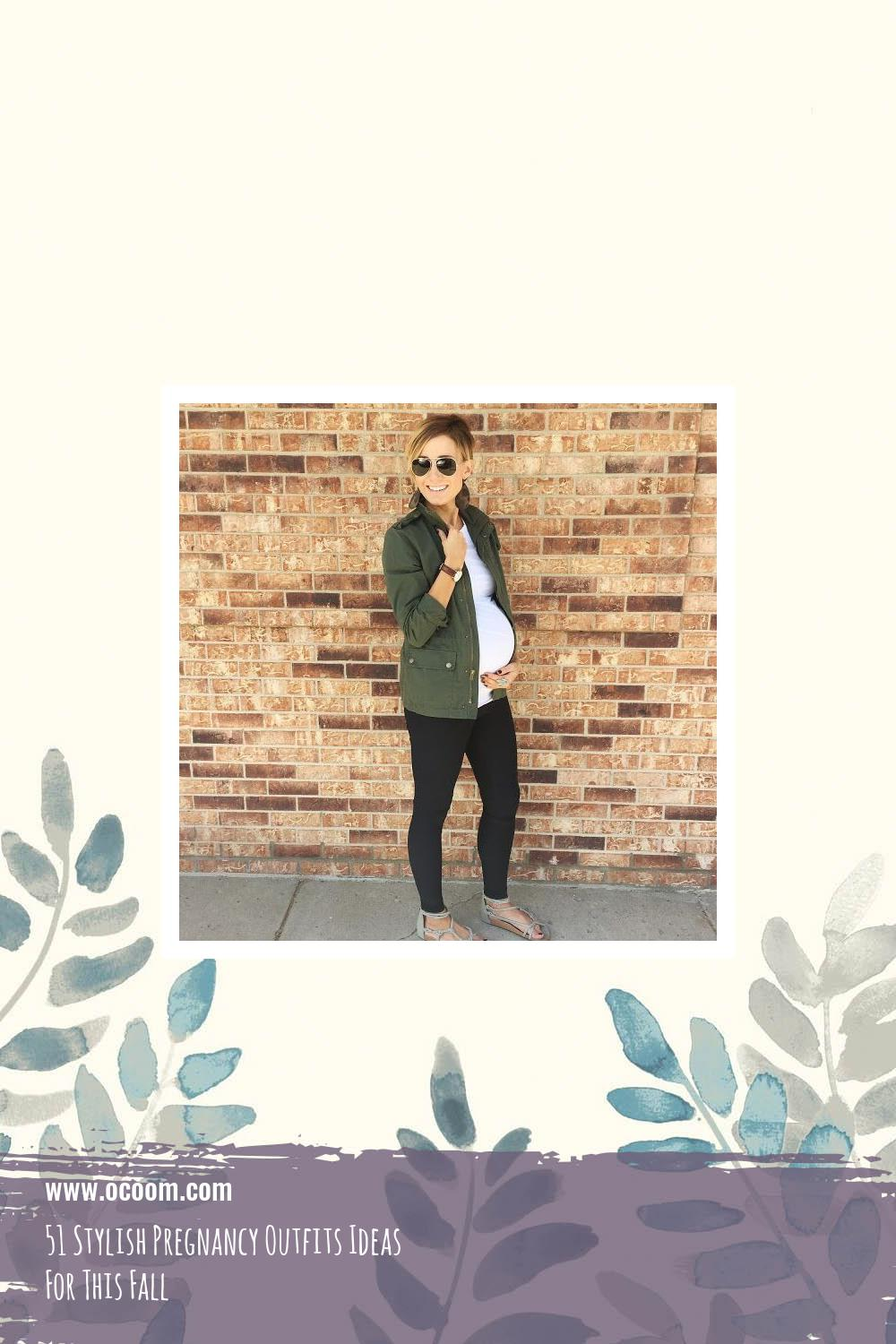 51 Stylish Pregnancy Outfits Ideas For This Fall 24