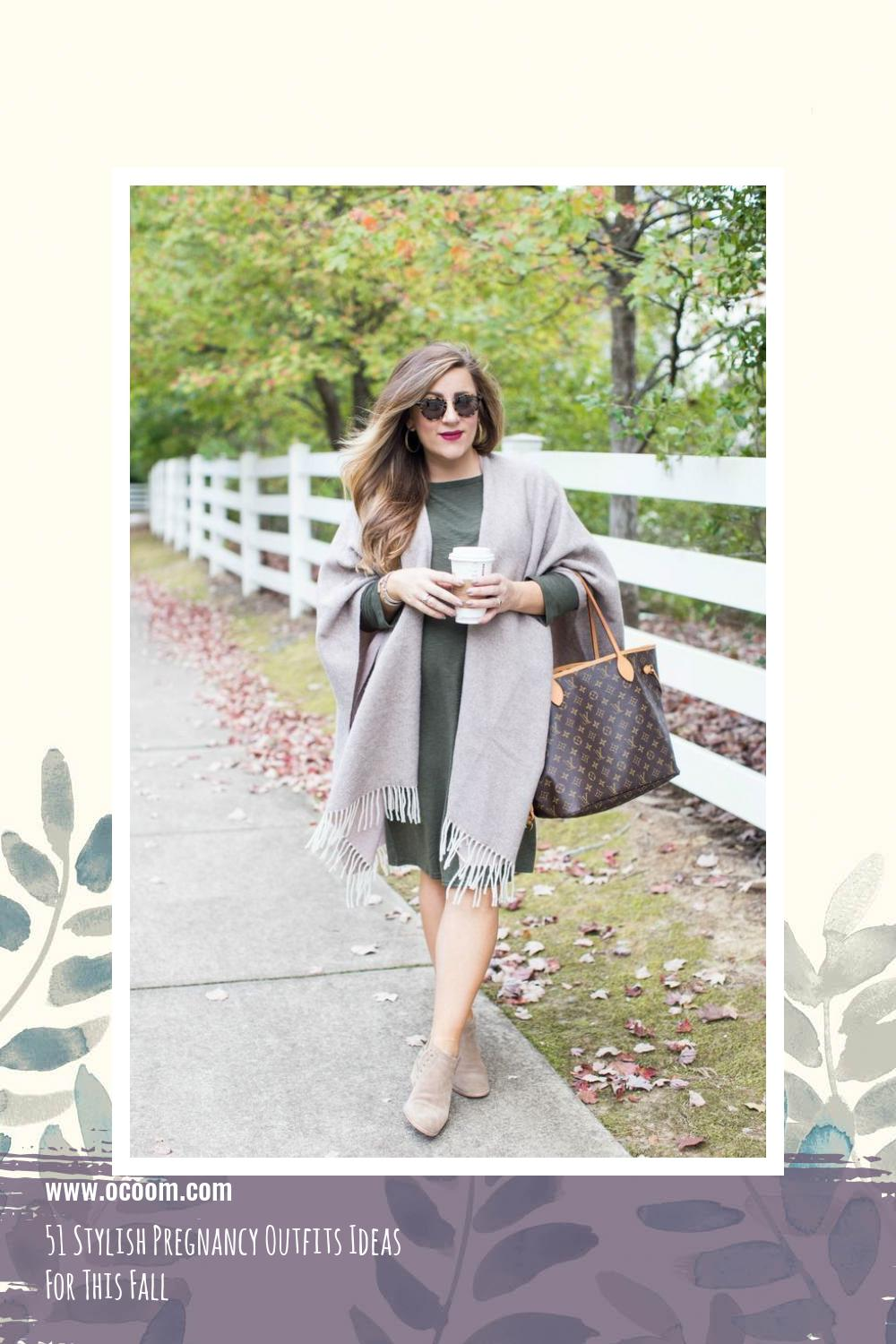51 Stylish Pregnancy Outfits Ideas For This Fall 40